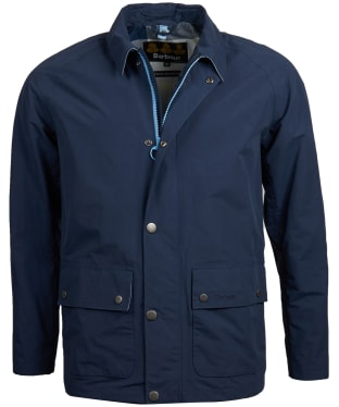 Men's Barbour Storrs Waterproof Jacket - Navy