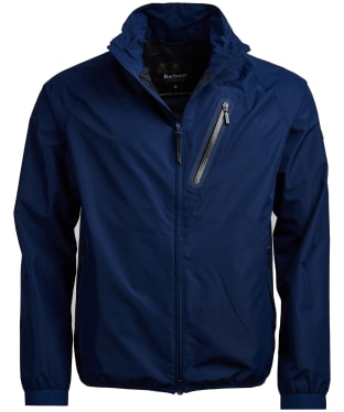 Men's Barbour International Quads Waterproof Jacket - Regal Blue