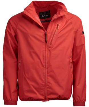 Men's Barbour International Quads Waterproof Jacket - Racing Red