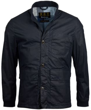 Men's Barbour Kirkstile Wax Jacket - Royal Navy