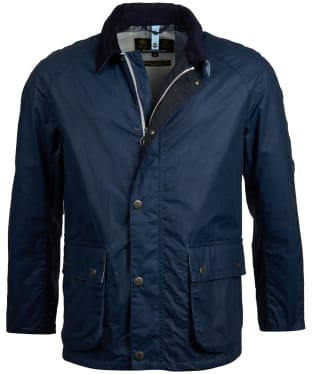 Men's Barbour Rothay Wax Jacket - Dark Denim