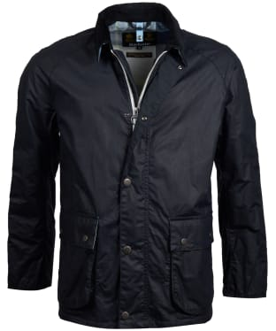 Men's Barbour Rothay Wax Jacket - Royal Navy