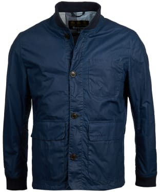 Men's Barbour Kirkstile Wax Jacket - Dark Denim