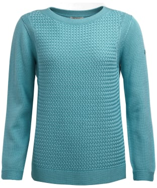 Women's Barbour Shoreline Knitted Sweater - Seagreen