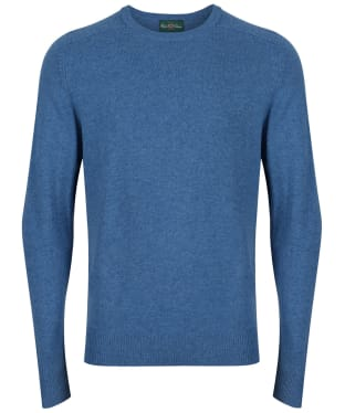Men's Alan Paine Burford Crew Neck Sweater - Mariner Blue