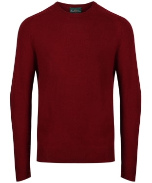 Men's Alan Paine Burford Crew Neck Sweater - Magma