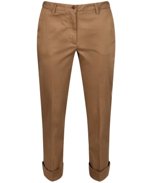 Women's GANT Modern Trousers - Warm Khaki
