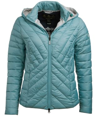 Women's Barbour Rowlock Quilted Jacket - Seagreen