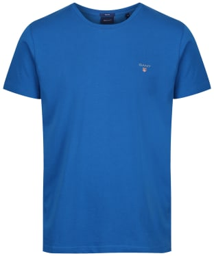 Men's GANT Solid T-Shirt - Lake Blue