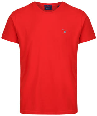 Men's GANT Solid T-Shirt - Blood Orange