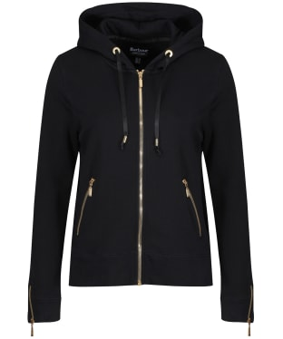 Women's Barbour International League Sweater Jacket - Black