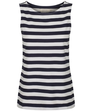 Women's Seasalt Sailor Vest Top - Cornish Midnight Chalk