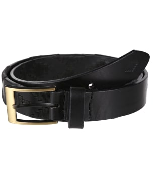 pampeano Leather Polo Belt - Carbon