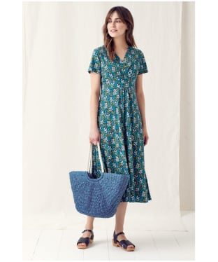Women's Seasalt Chapelle Dress - Chalky Seaweed Light Squid