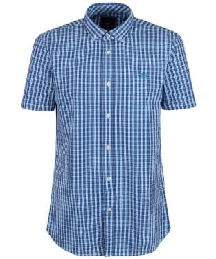 Men's Crew Clothing Seersucker Short Sleeve Shirt