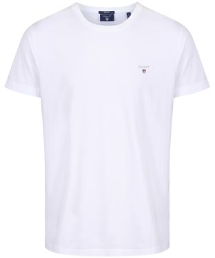 Men's GANT Solid T-Shirt - White