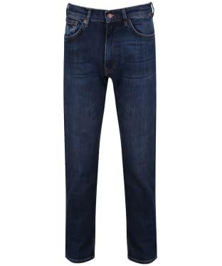 Men's GANT Regular Fit Jeans - Dark Blue Worn In