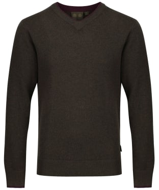 Men's Musto Shooting V-Neck Sweater - Rifle Green