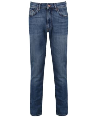 Men's GANT Slim Straight Jeans - Mid Blue