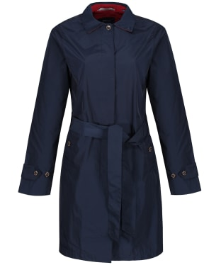 Women's GANT Memory Mac Coat - Marine