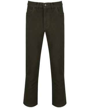 Men's Ptarmigan Stonecutter Moleskin Trousers - Olive
