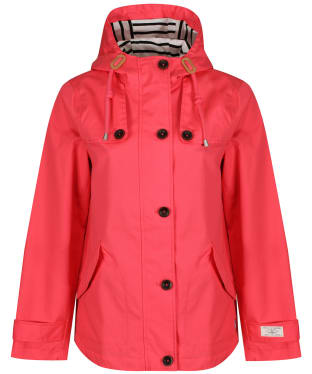 Women's Joules Coast Waterproof Jacket - Red Sky