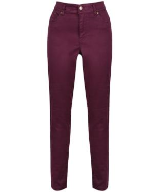Women's Joules Monroe Skinny Jeans - Burgundy