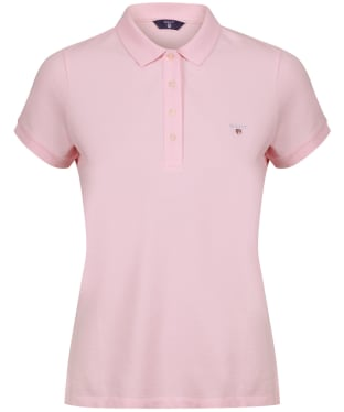 Women's GANT Polo Shirt - California Pink