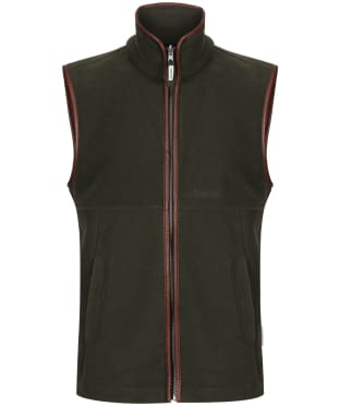 Men's Schoffel Oakham Fleece Gilet - Moss
