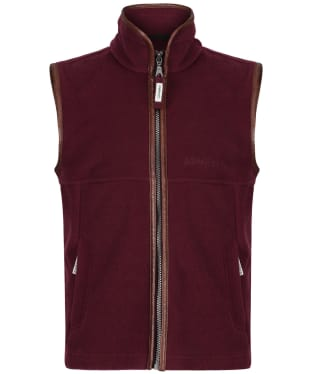 Boy's Schoffel Little Oakham Fleece Gilet, 5-14yrs - Fig