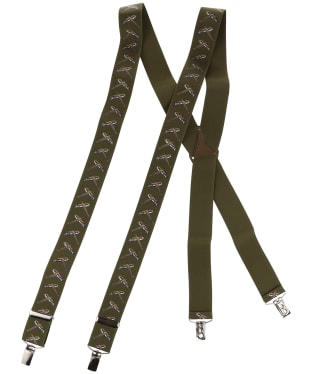 Men's Soprano Flying Pheasant Braces - Green
