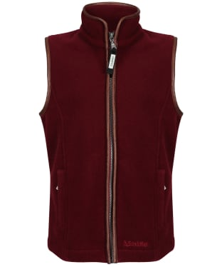 Girl's Schoffel Little Lyndon Fleece Gilet, 5-14yrs - Ruby
