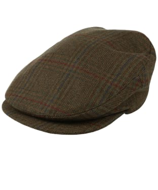 Men's Schoffel Countryman Tweed Cap - Buckingham Tweed