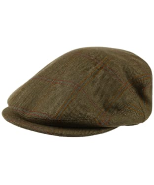 Men's Schoffel Countryman Tweed Cap - Sandringham Tweed