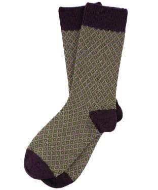Women's Schoffel Braemar Socks - Thistle