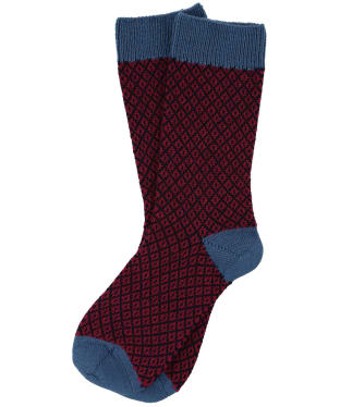 Women's Schoffel Braemar Socks - Stone Blue