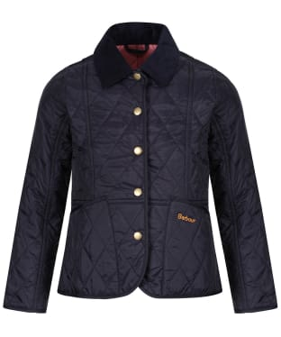 Girl's Barbour Summer Liddesdale Quilted Jacket, 2-9yrs