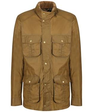Men's Barbour Lightweight Corbridge Waxed Jacket - Sand