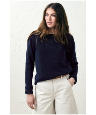 Women's Seasalt Reel Jumper - Indigo