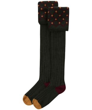 Pennine Regent Shooting Socks - Hunter