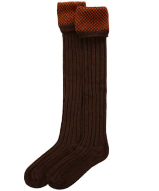 Men's Pennine Penrith Shooting Socks - Spice