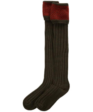 Men's Pennine Penrith Shooting Socks - Regal