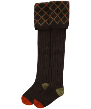 Pennine Regent Shooting Socks - Mocha