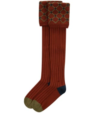 Pennine Regent Shooting Socks - Maple