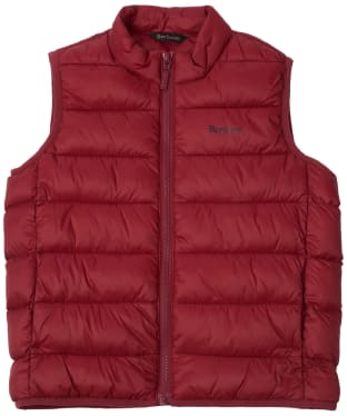 Boy's Barbour Bretby Gilet, 10-15yrs - Biking Red