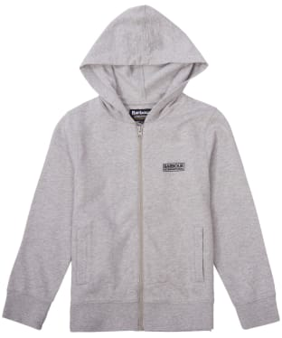 Boy's Barbour International Essential Hoody, 10-15yrs - Grey Marl