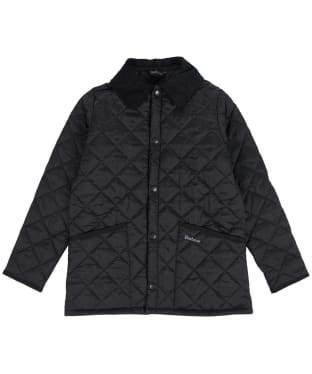 Boy's Barbour Liddesdale Quilted Jacket, 10-15yrs - New Black