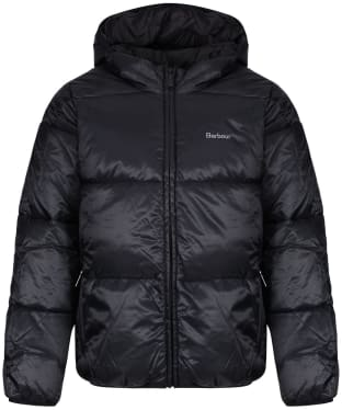 Boy's Barbour Ross Quilted Jacket, 10-15yrs - Black