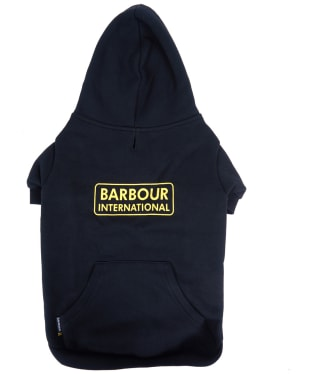 Barbour International Hooded Dog Coat - Black