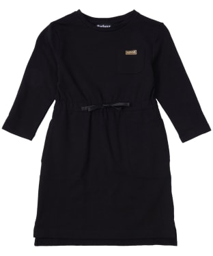Girl's Barbour International Island Dress, 2-9yrs - Black